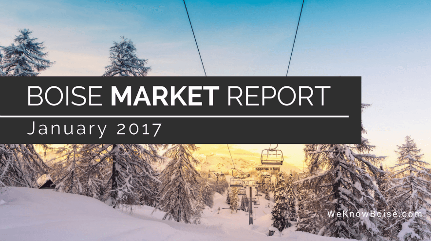 Boise Real Estate Market Update January 2017