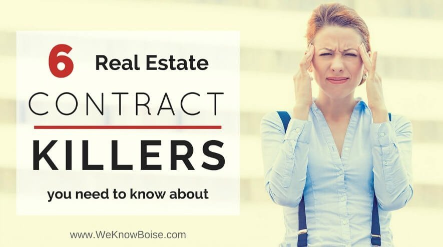 Real Estate Contract Killers You Need to Know About