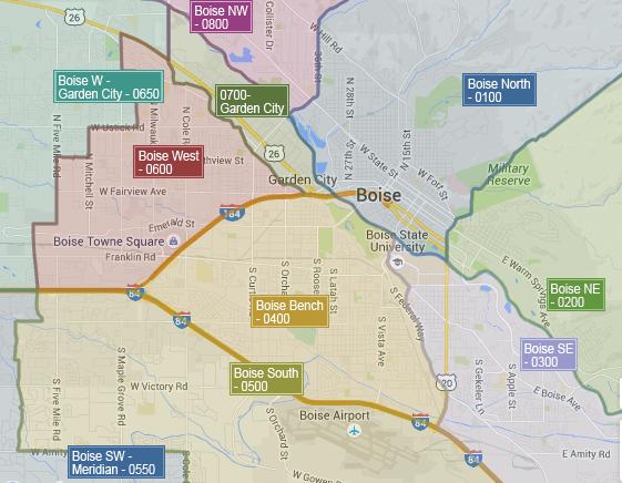 Boise Neighborhoods Boise Idaho Homes