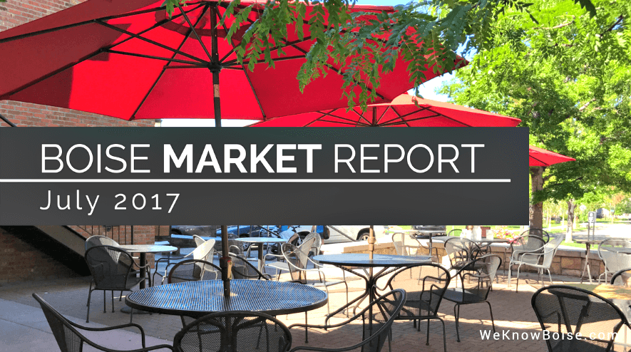 Boise Real Estate Market Update July 2017