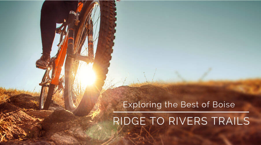 Boise's Ridge to Rivers foothills trail system