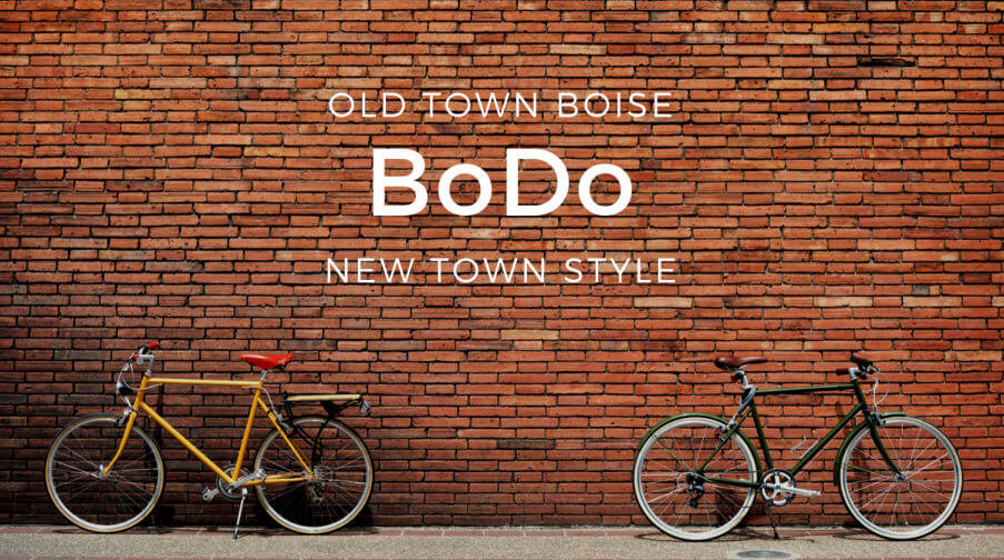BoDo - Boise Downtown condos, restaurants and shopping