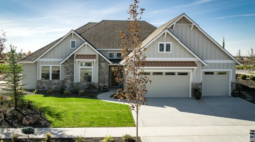 The Sawtooth Craftsman by Adera Homes