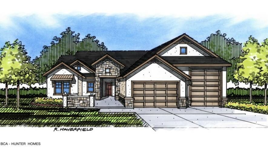 The evergreen by hunter homes 2018 parade of homes - The home hunter ...