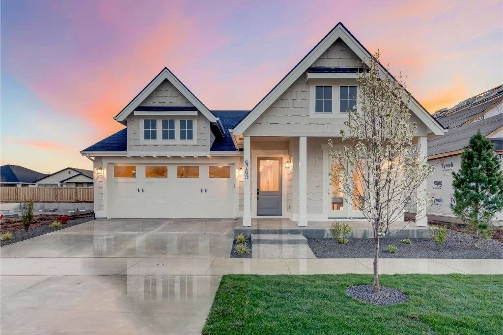 The Banquetta by Asbury Homes