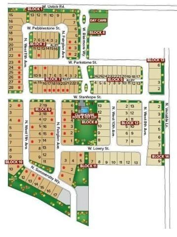 Crossfield Meridian Idaho plat map