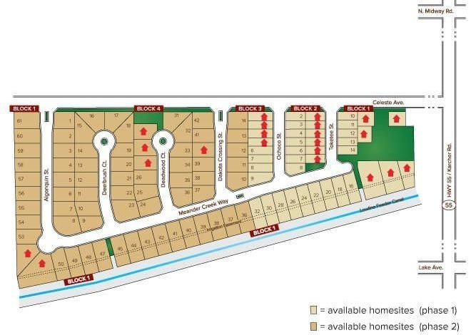 Dakota Crossing Subdivision Nampa Idaho site plan