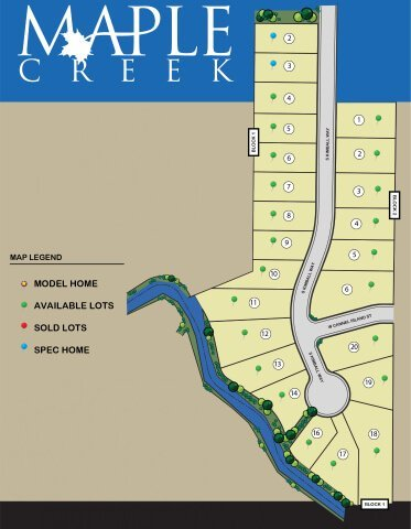 Maple Creek Boise ID available homes