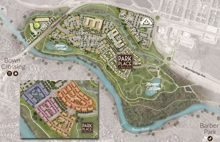 Park Place Townhomes at Barber Station - Boise ID
