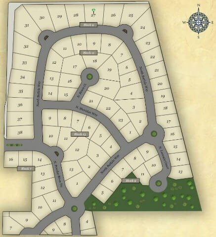 Powder River Subdivision Middleton Idaho plat map