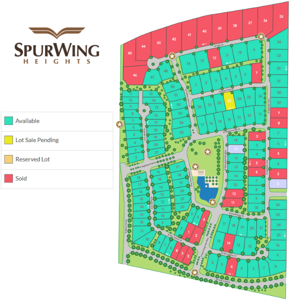 SpurWing Heights Subdivision Meridian ID