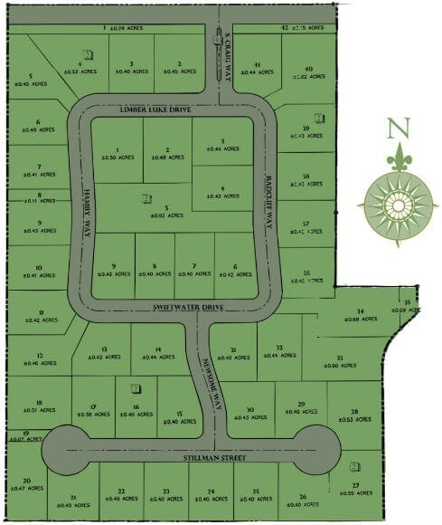 Table Meadows Subdivision Nampa ID plat map