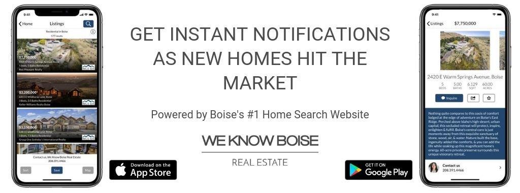 We Know Boise Real Estate Apps
